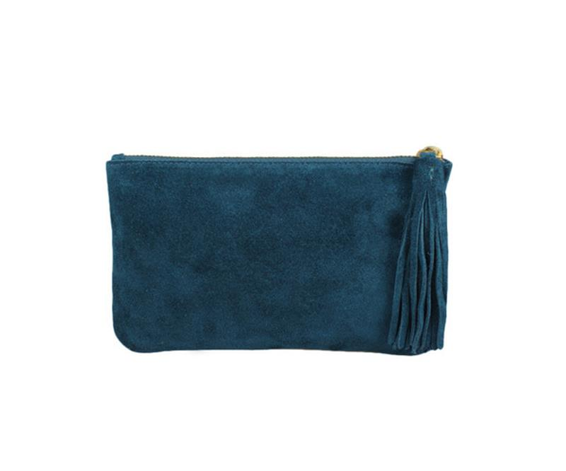 Gazelle Tassel Clutch