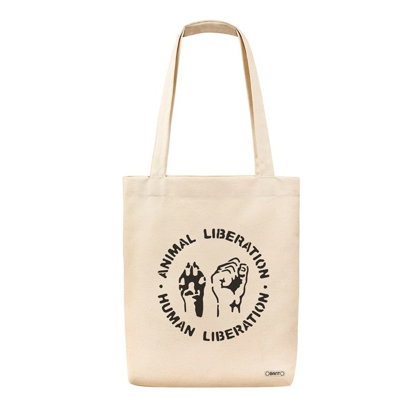 Animal Liberation Tote Bez Çanta
